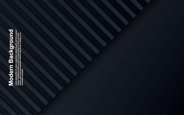 Illustration de fond abstrait couleur noir et bleu