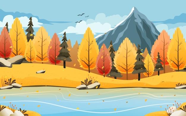 Illustration de fond automne