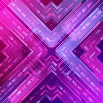 Illustration de fond géométrique abstrait