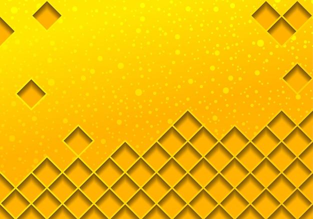 Illustration de fond d'or avec treillis métallique