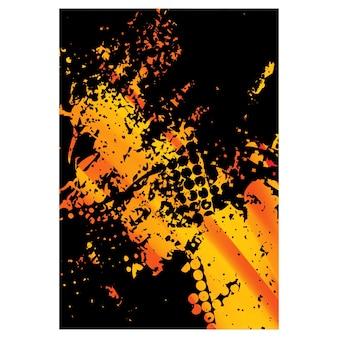 Illustration de fond de texture abstraite pour le fond de sport