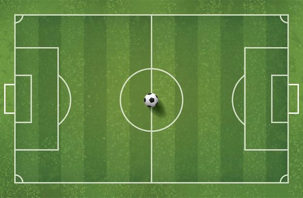 Illustration de fond sur le thème du football