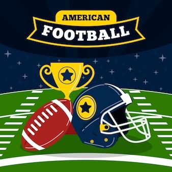 Illustration de football américain