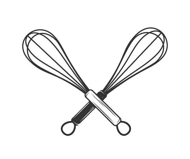 Illustration de fouet à la main
