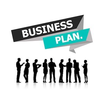Illustration de gens d'affaires