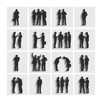 Illustration des gens d'affaires