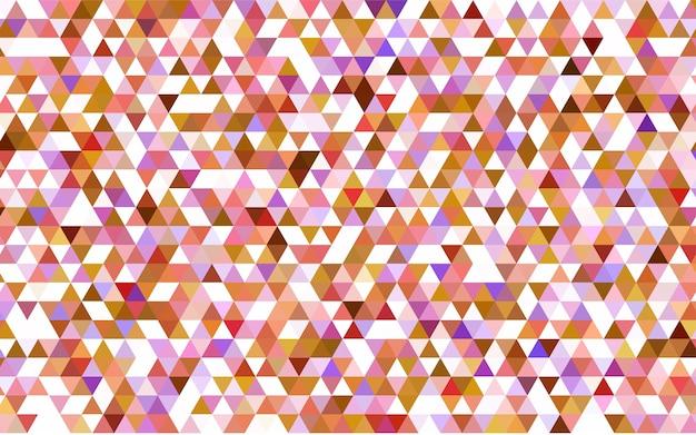 Illustration géométrique dans le style origami