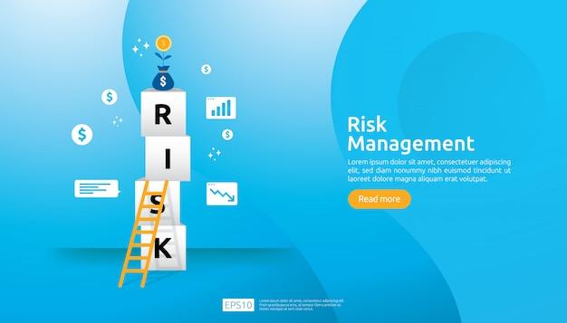Illustration de la gestion des risques