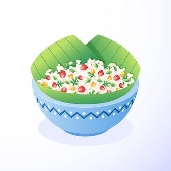 Illustration de gopalkala plat