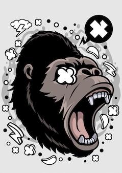 Illustration de gorille