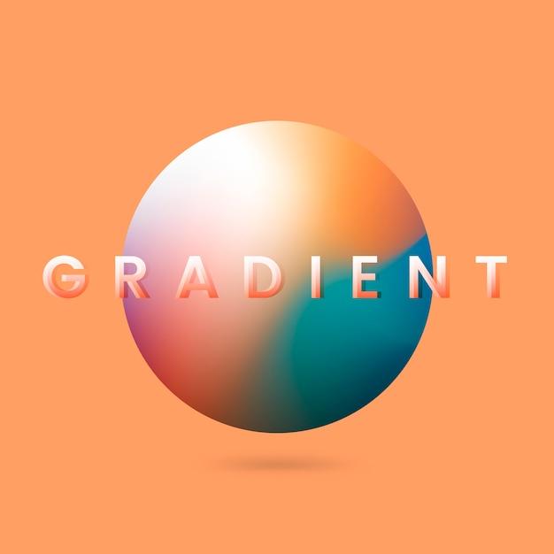 Illustration de gradient