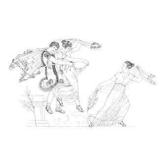 Illustration de la grèce antique