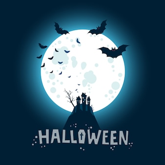 Illustration d'halloween