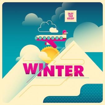 Illustration de l'heure d'hiver