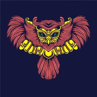 Illustration de hibou