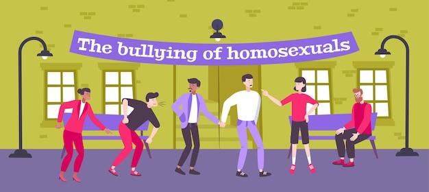 Illustration de l'homophobie