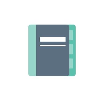 Illustration de l'icône de cahier