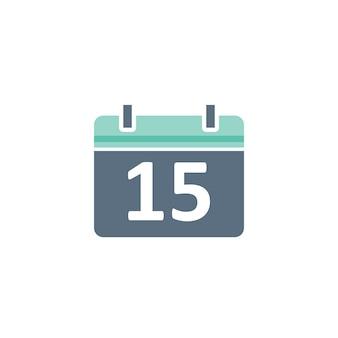 Illustration de l'icône de calendrier