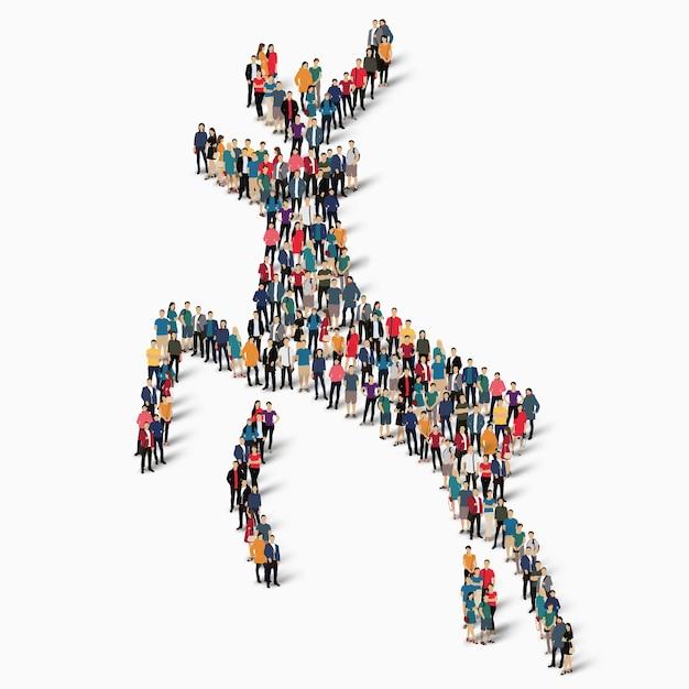 Illustration d'icône de cerf