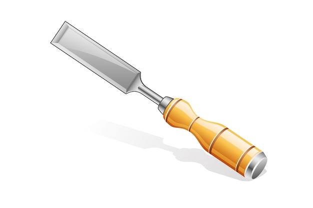 Illustration d'icône de ciseau