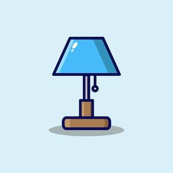 Illustration d'icône de dessin animé de lampe de sommeil