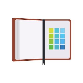Illustration de l'icône du cahier
