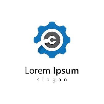 Illustration d'icône images logo gear