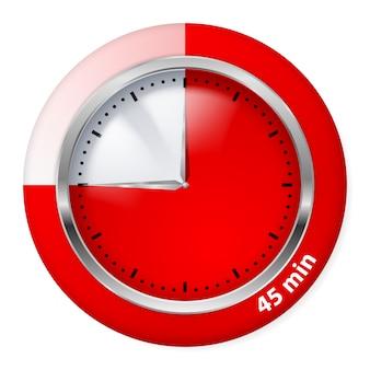 Illustration d'icône de minuterie