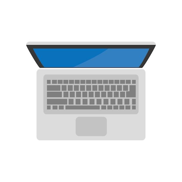 Illustration de l'icône de l'ordinateur