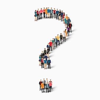 Illustration d'icône de question