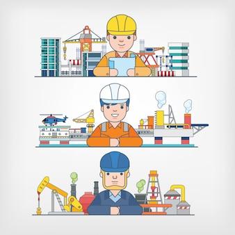 Illustration de l'industrie