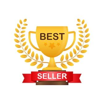 Illustration de l'insigne du meilleur vendeur