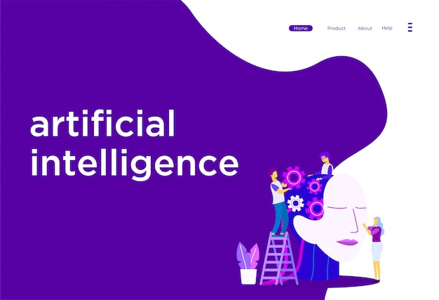 Illustration de l'intelligence artificielle