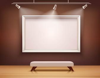 Illustration intérieure de la galerie
