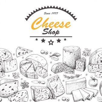 Illustration de jeu de fromage