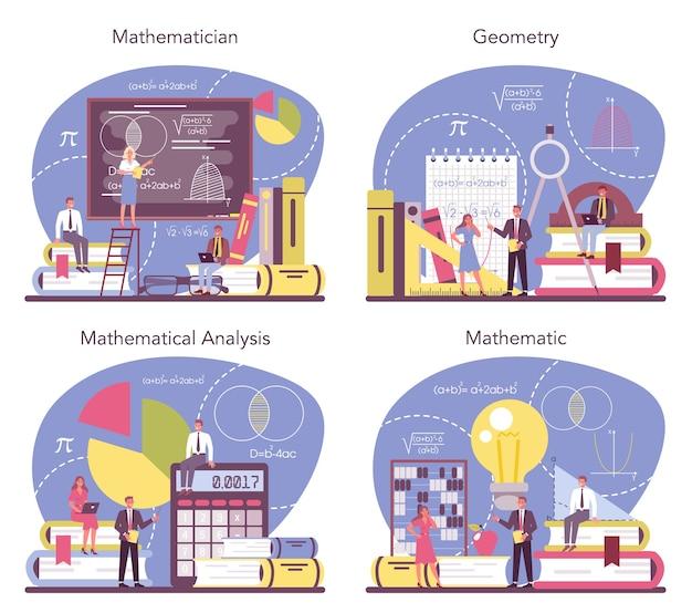 Illustration de jeu de mathématicien