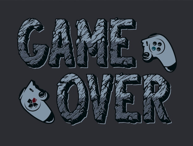 Illustration de jeu vidéo vintage