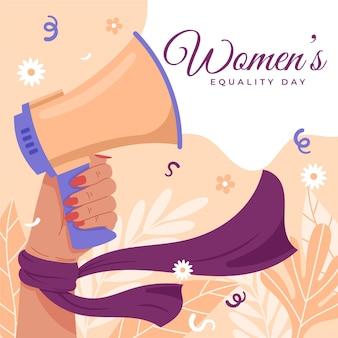 Illustration De La Journée De L'égalité Des Femmes Vecteur gratuit