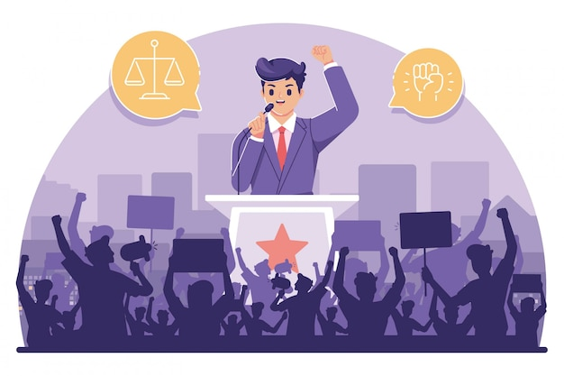 Illustration de la journée internationale de la démocratie