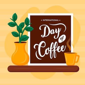 Illustration de la journée internationale du café