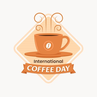 Illustration de la journée internationale du café