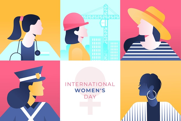 Illustration de la journée internationale des femmes