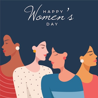 Illustration De La Journée Internationale Des Femmes Vecteur gratuit