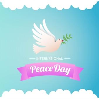 Illustration de la journée internationale de la paix