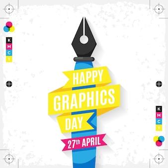 Illustration de la journée mondiale du graphisme