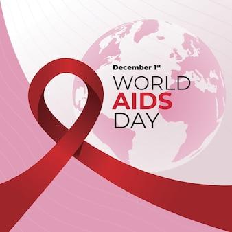Illustration de la journée mondiale du sida