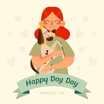 Illustration de la journée nationale du chien