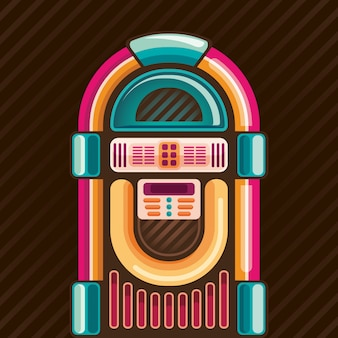 Illustration de jukebox
