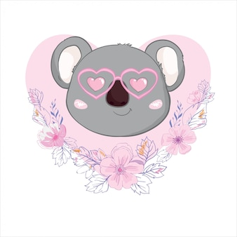 Illustration de koala mignon