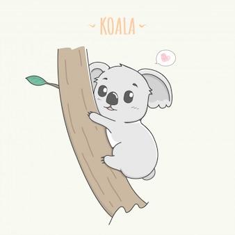 Illustration de koala